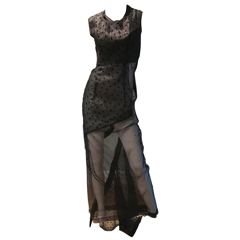 Comme des Garcons Net Evening Gown