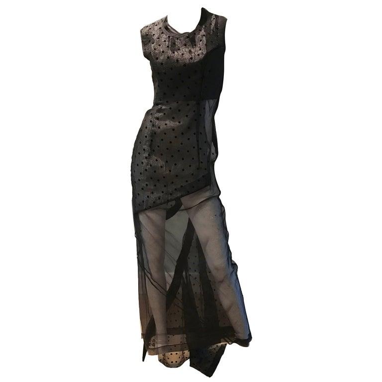 Comme des Garcons Net Evening Gown  For Sale