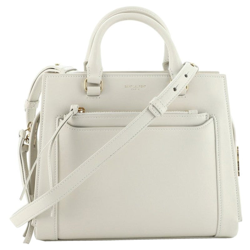Saint Laurent East Side Tote Smooth Leather Small