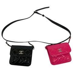 Chanel Black Vernice Balt Bag