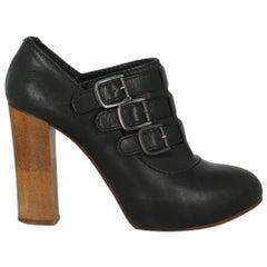 Chloé Women Ankle boots Black Leather EU 34