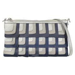 Hogan Women Shoulder bags Navy, Silver Leather