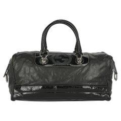 Gucci Women Handbags Black Leather