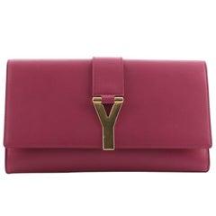 Saint Laurent Chyc Clutch Leather