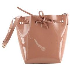 Mansur Gavriel Bucket Bag Patent Mini