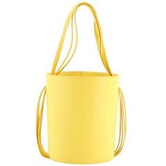 Mansur Gavriel Fringe Bucket Bag Leather