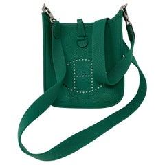 Hermes Vertigo Green Evelyne TPM Bag