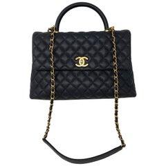 Chanel Black Coco Handle Bag