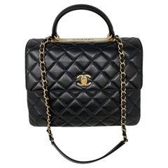 Chanel Black Large Trendy Bag