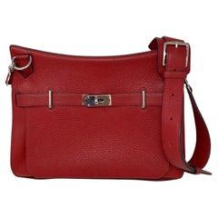 Hermes Red Jypsiere 34 Bag