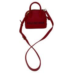 Red Balenciaga Bag