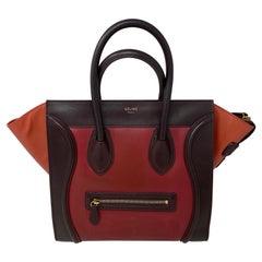 Celine Tri-Color Mini Luggage Bag