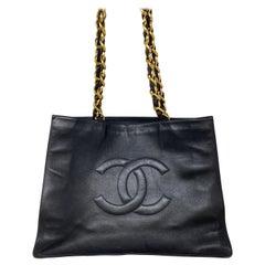 Chanel Vintage Shopper Tote