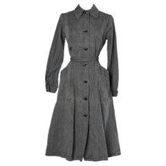 School teacher lab-coat
