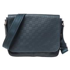 Louis Vuitton Cosmos Damier Infini Leather District PM Bag