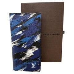 Louis Vuitton Blue Limited Wallet