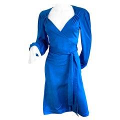 Constellation Night Sky Print Silk Wrap Dress  - NWT Flora Kung