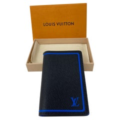 Louis Vuitton Limited Edition Black Blue Wallet