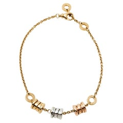 Bvlgari B.Zero1 3-Elements 18K Three Tone Gold Bracelet