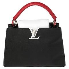 Louis Vuitton Multicolor Taurillon Leather Capucines MM Bag