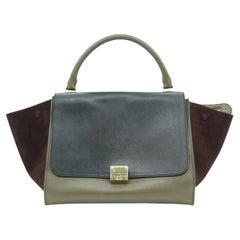 WOMENS DESIGNER Celine Medium Trapeze Shoulder Bag