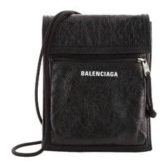 Balenciaga Explorer Strap Pouch Leather