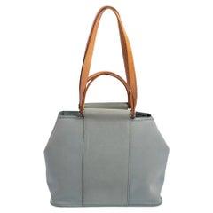 Hermes Belu Lin/Natural Canvas Cabag Elan PM Bag