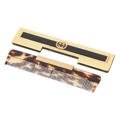 Gucci Tortoise Shell Comb with Case / SATURDAY SALE