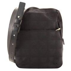 ChanelTravel Line Crossbody Bag Nylon Mini