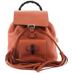 Gucci Bamboo Tassel Backpack Leather Mini