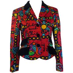 1993/94 Moschino Collection Cotton Jacket (S)