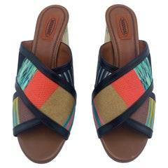 Missoni Multicolor Sandal Heels, Size 41