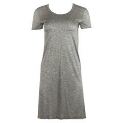 The Row Flora Cotton Jersey Mini Dress
