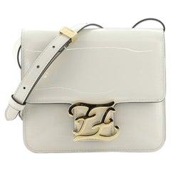 Fendi Karligraphy Crossbody Bag Patent