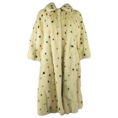 Alexander Mcqueen A/W 2008 RTW Dalmatian Mink Coat
