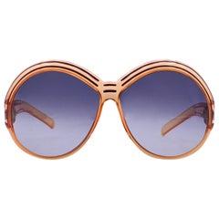 Christian Dior Vintage Mint Orange Red Oversize Sunglasses 2040 65mm 130 mm
