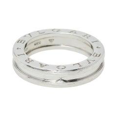 Bvlgari B.zero1 18K White Gold One-Band Ring Size EU 51