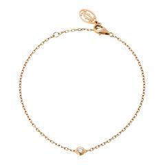 Cartier Diamants Légers De Cartier Diamond 18K Rose Gold Bracelet