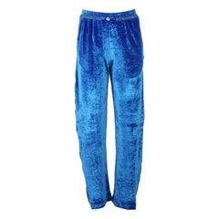 Off-White C/O Virgil Abloh Silk Velvet Pants