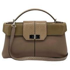 Cartier Classic Beige Feminine Line Top Handle Bag
