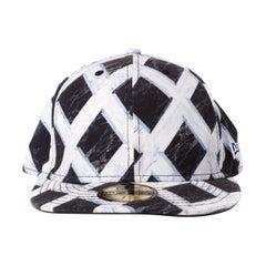 Kenzo x New Era Black and White Cap