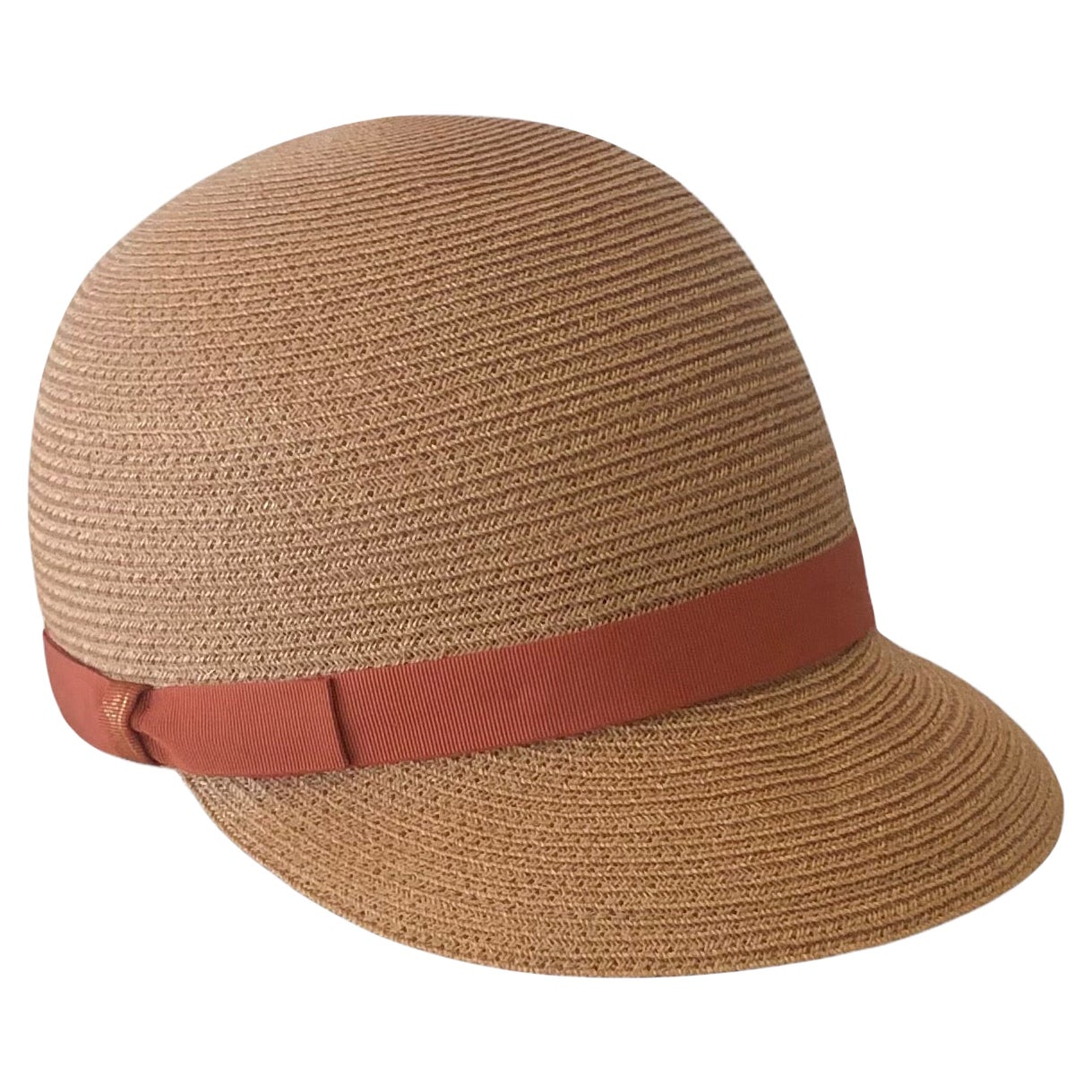Borsalino Woven Hemp Baseball Cap