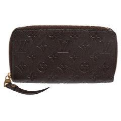 Louis Vuitton Terre Monogram Empreinte Leather Secret Long Wallet