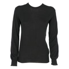 1990s Helmut Lang black cotton sweater
