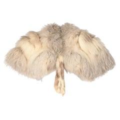 1980s A.N.G.E.L.O. Vintage Cult fox fur scarf