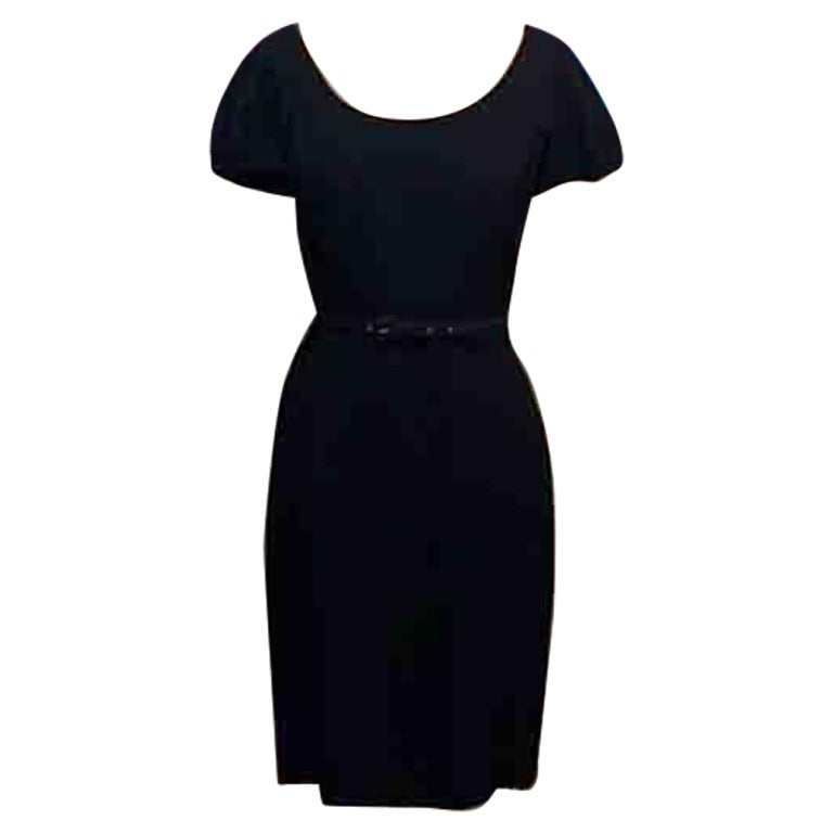 Christian Dior Black Sheath Dress