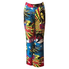 Christian Dior Bob Marley Reggae Pants