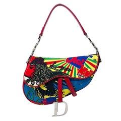Christian Dior Bob Marley Saddle Bag John Galliano