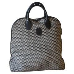 Goyard Travel Bag, Vintage Oversized Goyard Travel Bag Tote