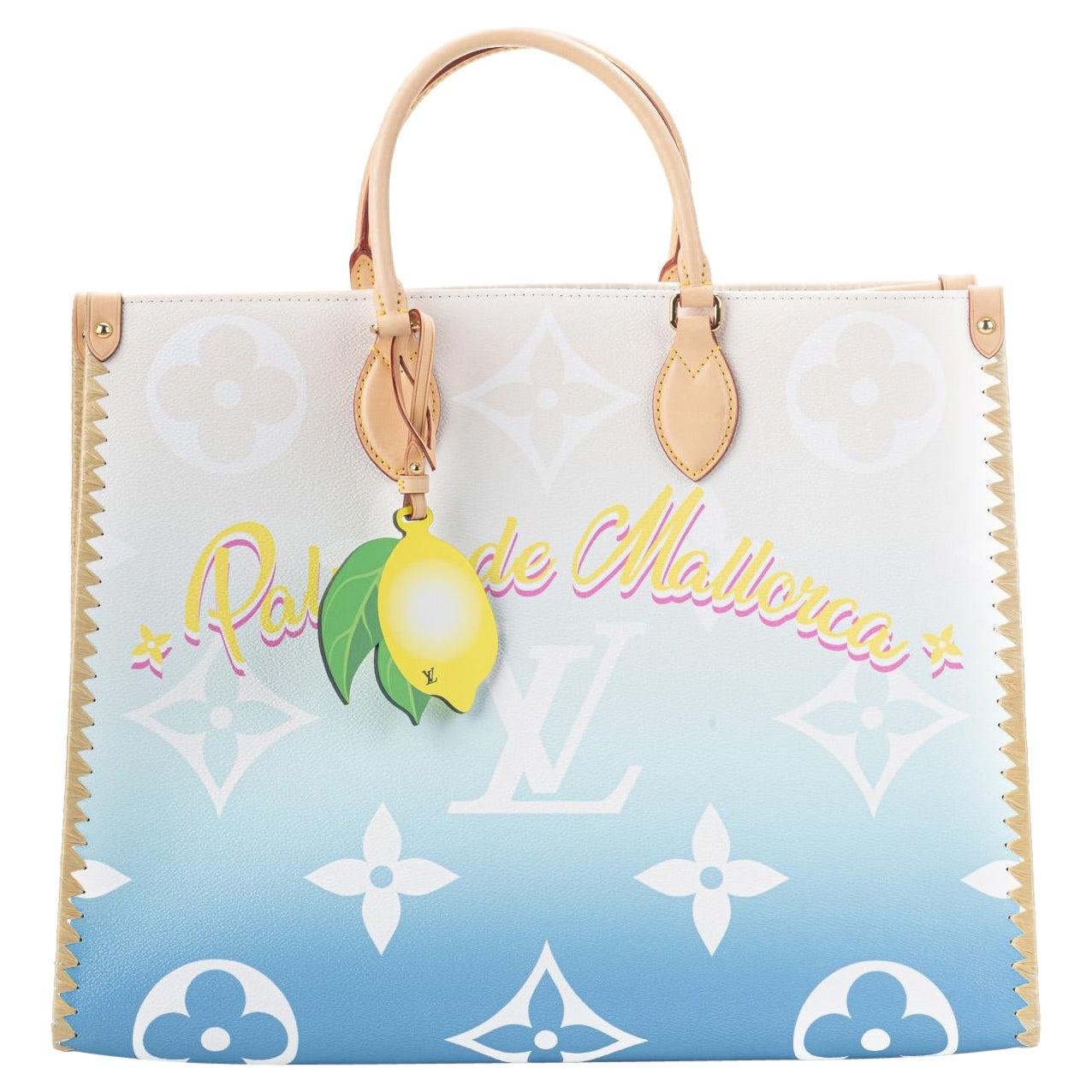 Louis Vuitton 2021 On The Go Palma de Mallorca Bag
